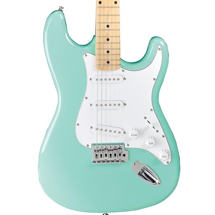 Jay Turser Double Cutaway Maple Electric Guitar Sea Foam Green