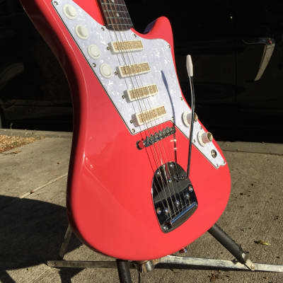 DiPinto Galaxie 4 Safari  2019 Pink with gold foil pickups for sale