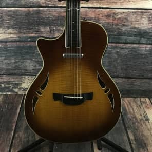 Crafter Left Handed SA 12 String Guitar with Case- Sunburst - With a Crafter Deluxe Hard Shell Case for sale