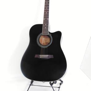 Ibanez V70CE BK Acoustic/Electric Guitar Black