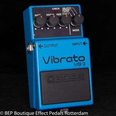 Boss VB-2 Vibrato 1982 Japan s/n 225400 as used by Josh Klinghoffer, Robin Guthrie ( Cocteau Twins )