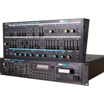 Roland MKS-80 Super Jupiter with MPG-80 Programmer