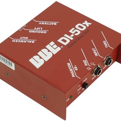 BBE Active Direct Box DI Box For Studio Recording DI-50X