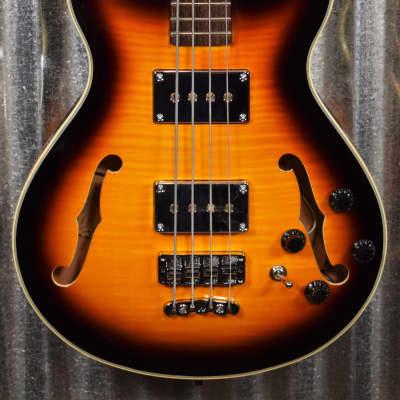 Warwick Rockbass Star Bass Vintage Sunburst 4 String Bass & Bag #8218