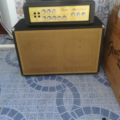 Echolette Klemt Echolette SHOWSTAR S40L With Cabinet ET100 (2x12) 60s BLACK for sale