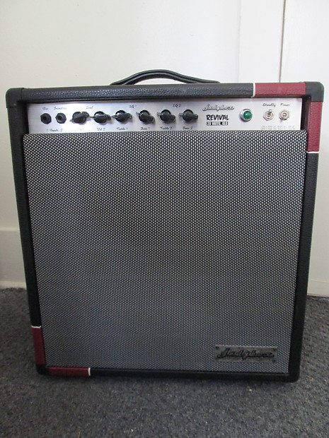 Judybox Revival 1x12 combo 28 watts handwired ab763 all tube red/black