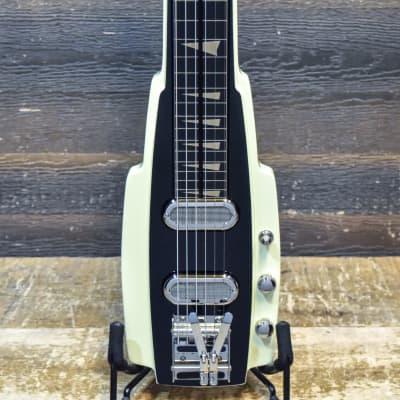 Duesenberg Alamo Dual Singlecoil Capodaster Multibender Electric Lapsteel Guitar for sale