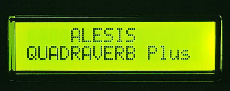 Alesis LCD Display - Quadraverb, Quad Plus, Quad GT, Data Disk, D4, & ADA  MP-2 Screen - GREEN