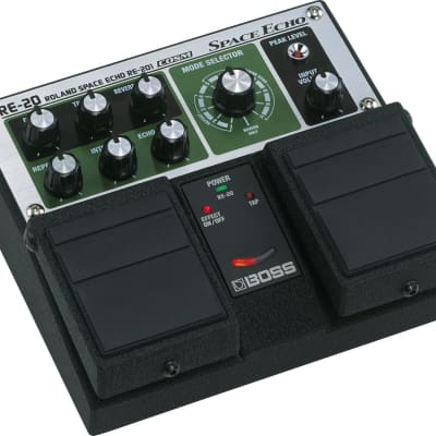 Boss Space Echo Delay / Reverb Pedal for sale