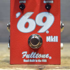 Fulltone '69 MKII Germanium-Powered Fuzz Electric Guitar Effect Pedal