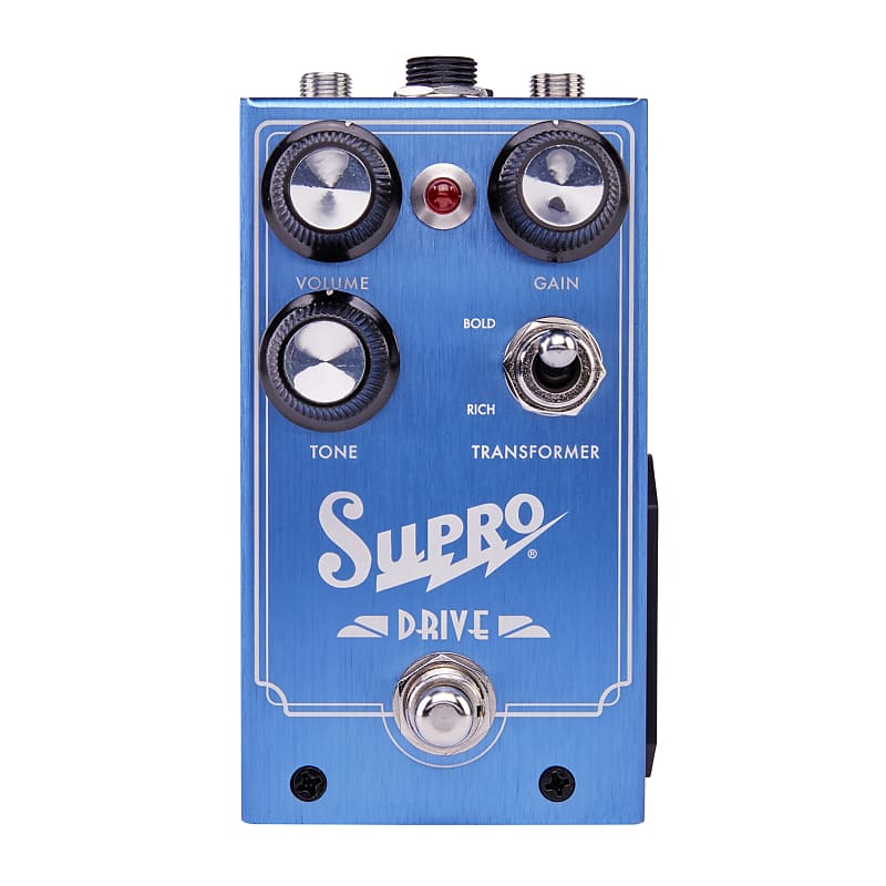 Supro 1305 Drive Overdrive Effects Pedal