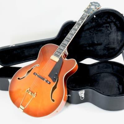Farida  FA17-SP-FP jazz semi... honey sunburst for sale