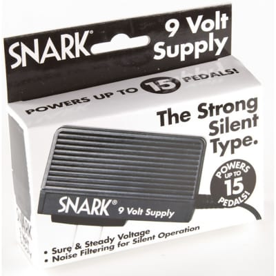 Snark SA-1 Slim 9-Volt Power Supply for Guitar Effects Pedal for sale