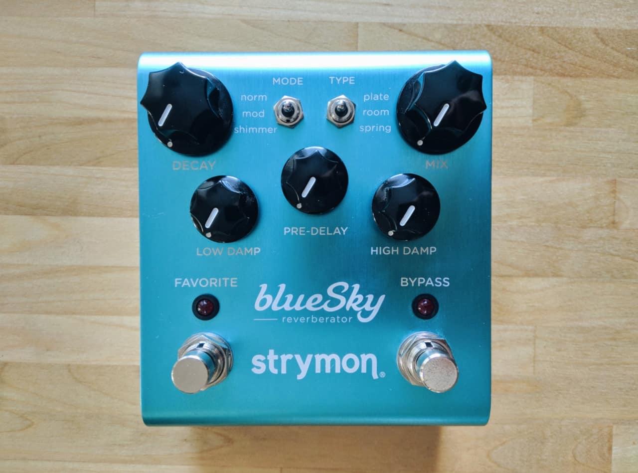 strymon blue sky 2017 blue victor 39 s gear depot reverb. Black Bedroom Furniture Sets. Home Design Ideas