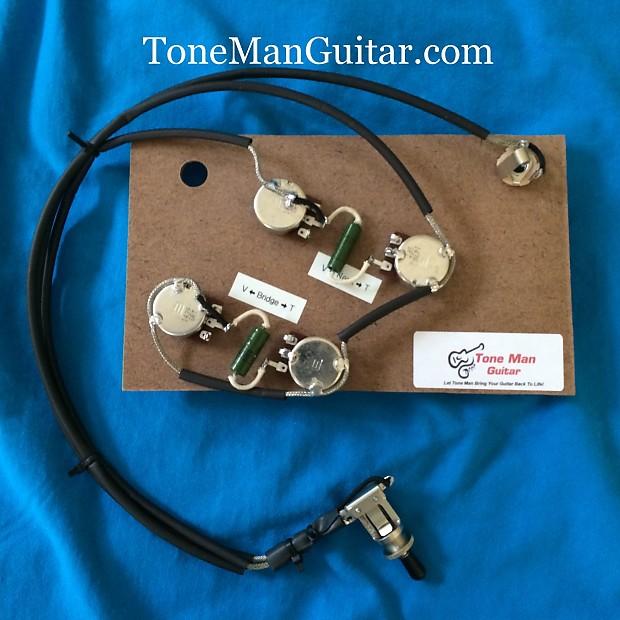 gibson es175 vintage 50's prebuilt upgrade wiring harness | reverb gibson es 175 wiring diagram modern gibson wiring diagram reverb