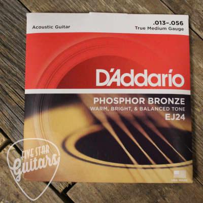 D'Addario EJ24 Phosphor Bronze DADGAD Acoustic 13-56