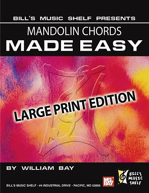 Mandolin Chords Made Easy Large Print Edition Reverb
