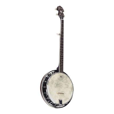 Ozark 5 String Banjo - Black for sale