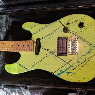 Peavey Tracer 1992 Yellow splatter for sale