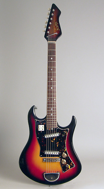 Norma Solid Body Electric Guitar Most Likely Made By