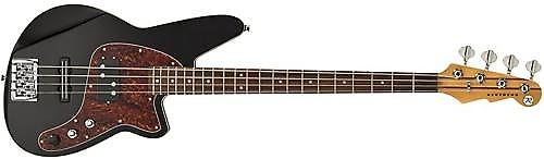 reverend decision 4 string bass guitar midnight black reverb. Black Bedroom Furniture Sets. Home Design Ideas