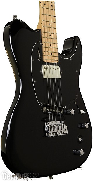 godin session custom tripleplay black reverb. Black Bedroom Furniture Sets. Home Design Ideas