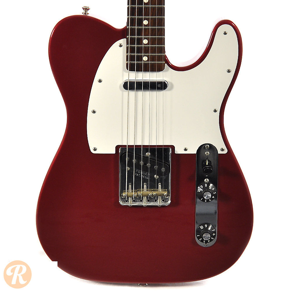 fender muddy waters telecaster candy apple red reverb. Black Bedroom Furniture Sets. Home Design Ideas