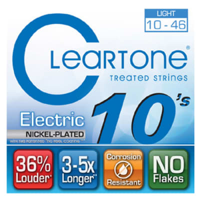 Cleartone 9410-CLEARTONE Light Electric Guitar Strings