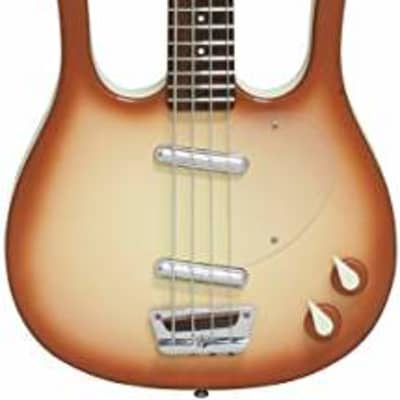 Danelectro Longhorn Bass Copper Burst for sale