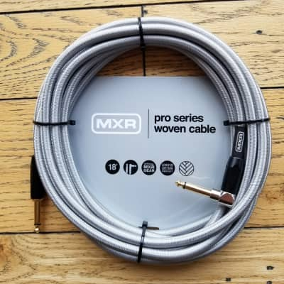 Dunlop Pro Series Wooven 18ft Cable DCIW18R
