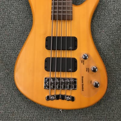 Warwick Rock Bass Streamer 5 String 2016 Honey Violin