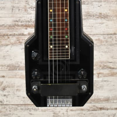 1930's Epiphone Electar Model M Lap Steel Black With OHSC Free Shipping for sale