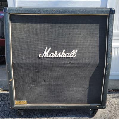 Marshall JCM 800 1960A Slant 4x12 Cabinet w/Celestion G-12M-70 Speakers 1980s Black