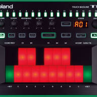 Roland AIRA TB-3 Touch Bassline Bass Synthesizer w/Dunlop PVP101 Pick-Pack (x12)  00761294504796