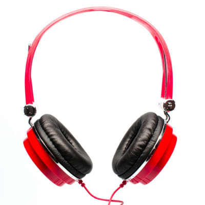 CAD MH100R Over Ear Studio Headphones - Red