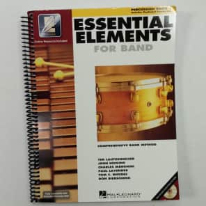 Hal Leonard Essential Elements for Band - Percussion/Keyboard Percussion Book 1 with EEi