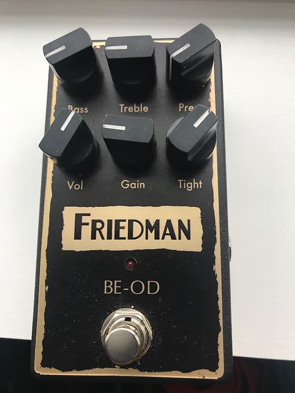 friedman be od overdrive 2018 black 2 danes studios reverb. Black Bedroom Furniture Sets. Home Design Ideas