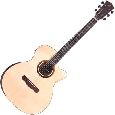 Merida Diana DG-20FOGACES Electro Acoustic Guitar - Natural for sale