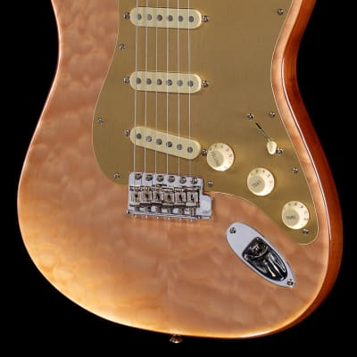 Fender Rarities Quilt Maple Top Stratocaster Rosewood Neck (664)