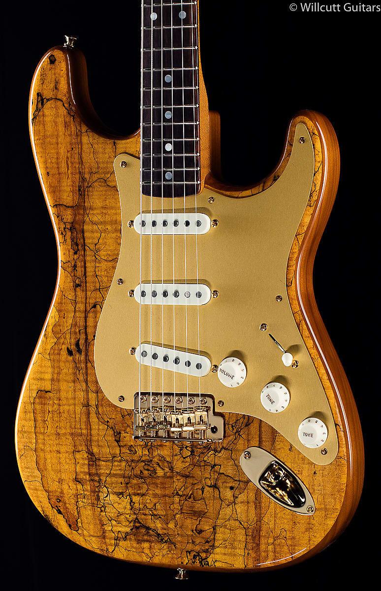 Auto Body Shops >> Fender Custom Shop Artisan Spalted Maple Stratocaster (370) | Reverb
