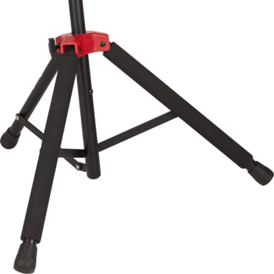 Fender Deluxe Hanging Guitar Stand Black/Red for sale