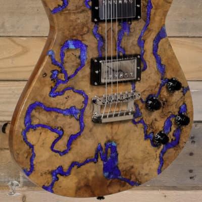 Knaggs Kenai T2 Electric Guitar Natural/Lapis w/ Case