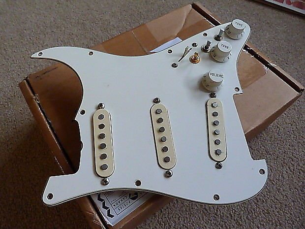 DiMarzio HS2/HS3 Loaded Pickguard with Mini-Toggle Switches - Many Tones