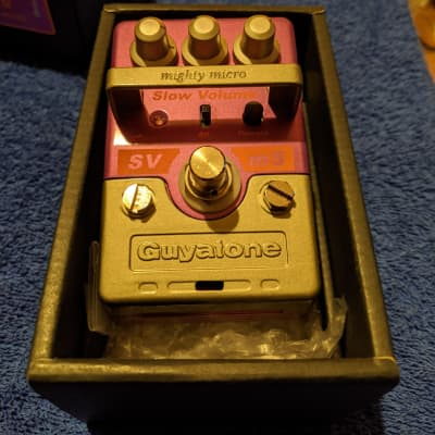 Guyatone SVm5 Auto Volume Pedal Slow Gear Reverse MINT in the box Swell vintage bowed attack sound