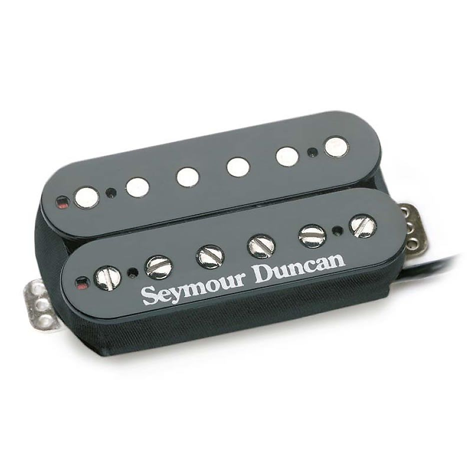 Seymour Duncan Tb Pg1b Pearly Gates Trembucker Black Cover