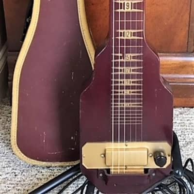 Local NH/MA pickup - Kalamazoo Vintage Lap Steel w/original case for sale
