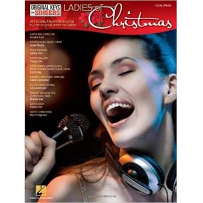 Ladies of Christmas: 20 Holiday Favorites as Sung by the Original Artist (Vocal/Piano)