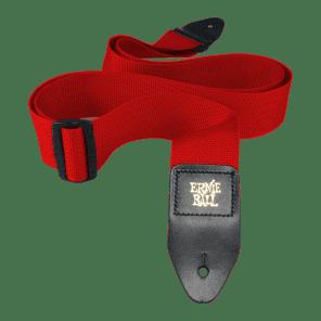 "Ernie Ball 4040 Polypro 2"" Guitar Strap Red"