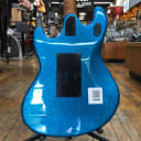 Ernie Ball Music Man Stingray Ball Family Reserve (BFR) Brilliant Blue Sparkle #26 of 52 w/Hard Case