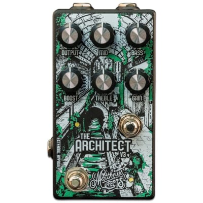Matthews Effects Architect V3 K-Style Overdrive Boost Pedal